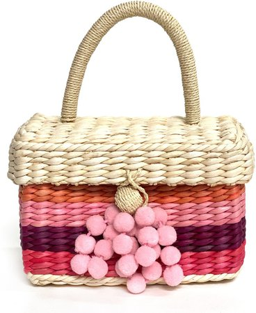 Btb Los Angeles Sandy Beach Woven Tote