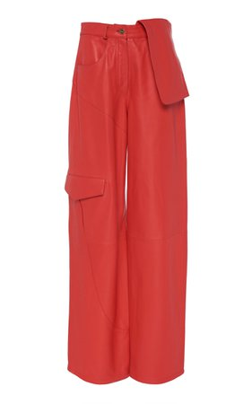 High-Waisted Wide-Leg Cargo Pants by Jacquemus | Moda Operandi