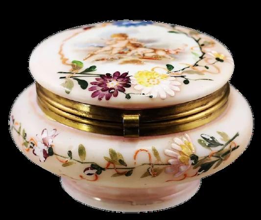 antique Victorian jewelry box