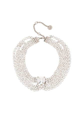 Miu Miu crystal-embellished Anklet - Farfetch