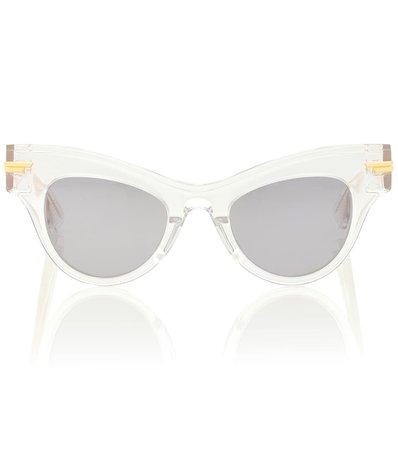 04 Cat-Eye Acetate Sunglasses | Bottega Veneta - Mytheresa