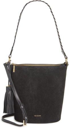 Rojin Leather Bucket Bag