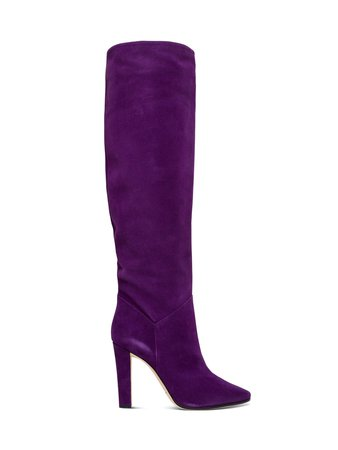 Alberta Ferretti High Suede Boots