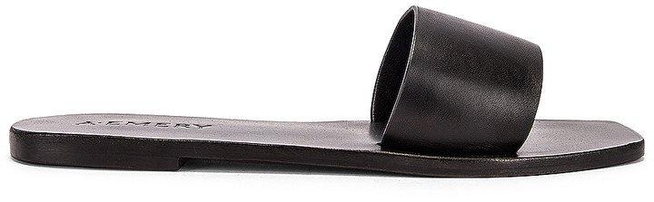 A.EMERY Zadie Sandal in Black | FWRD