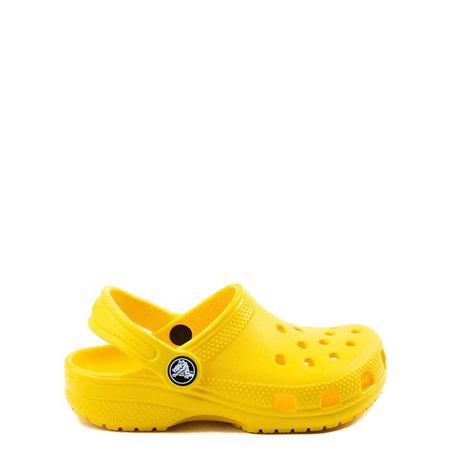 Crocs Classic Clog - Little Kid / Big Kid - Yellow   Journeys