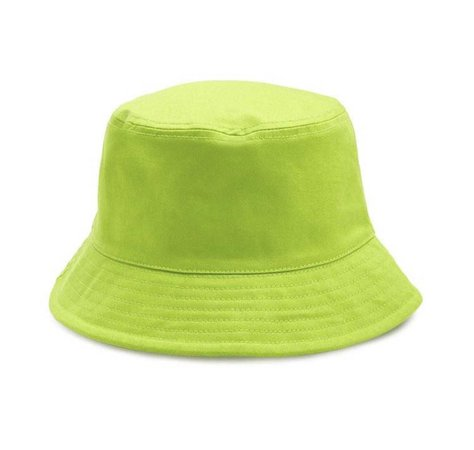 lime green bucket hat
