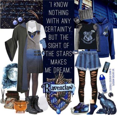 Ravenclaw student (Mae) Polyvore