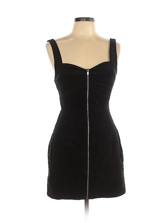 Divided by H&M Solid Black Casual Dress Size 10 - 54% off | thredUP