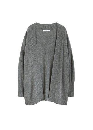 Violeta BY MANGO 100% cashmere cardigan