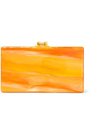 Orange Marbled Clutch