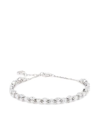Anissa Kermiche 18kt White Gold Sapphire Adjustable Bracelet - Farfetch