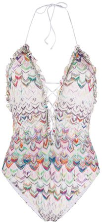 Mare knit layer swimsuit