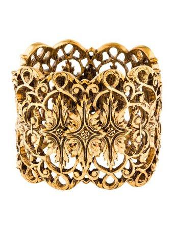 Oscar de la Renta Filigree Bangle - Bracelets - OSC76804 | The RealReal