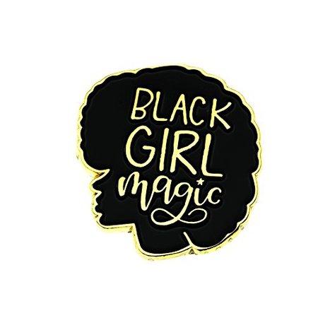 MS.CLOVER Black Girl Magic Enamel Pin Black Girls Rock Black Lives Matter Gifts for Best Friend Jacket Pins. | WantItAll