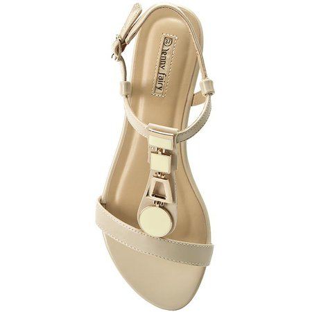 Jenny Fairy beige flat Sandals