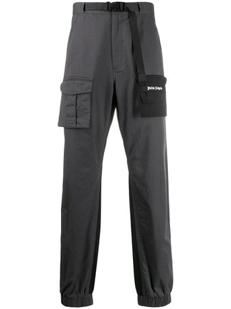 Palm Angels two-tone Cargo Trousers - Farfetch