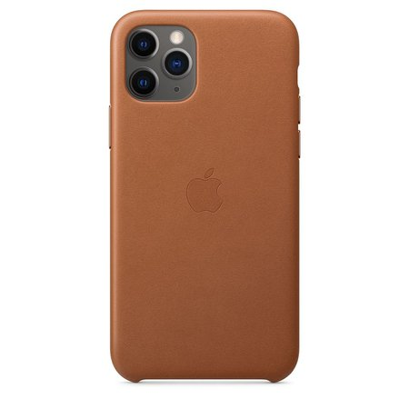 iPhone 11 Pro Leather Case - Saddle Brown - Apple
