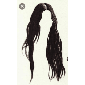 dark hair edit png