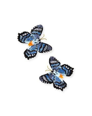 Mignonne Gavigan Butterfly Stud Earrings