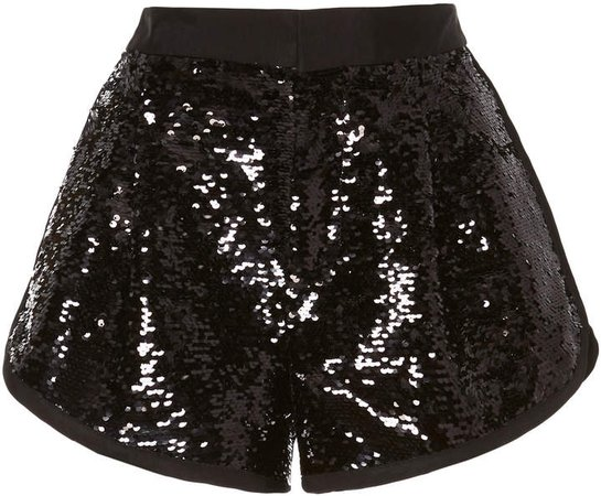 Sequin Mini Short