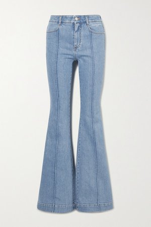 The '70s High-rise Flared Jeans - Blue