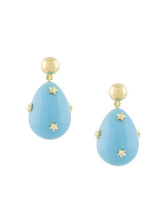Eshvi Mini Star Drop Earrings - Farfetch