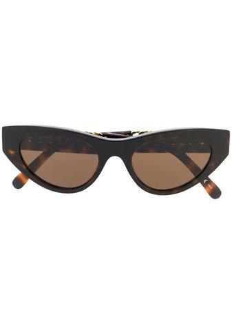 Stella McCartney Eyewear Falabella Cat Eye Sunglasses | Farfetch.com