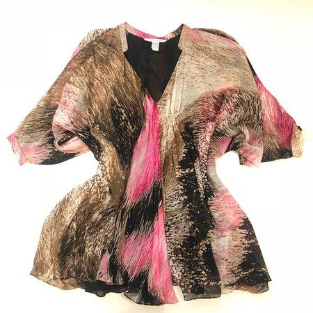 DVF Batwing Dress