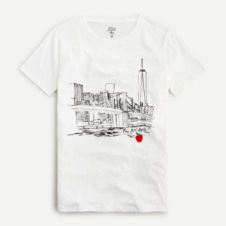 J.Crew: Vintage Cotton NYC T-shirt