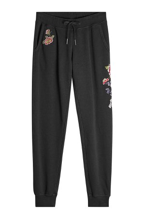 Embroidered Cotton Sweatpants Gr. XS