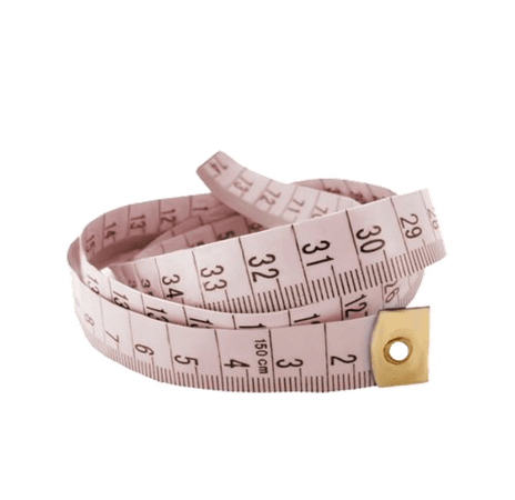 Pale Pink Measuring Tape png