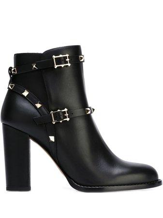 Valentino Valentino Garavani Rockstud Boots - Farfetch