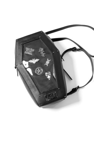 Pin Collector - Coffin Backpack – Blackcraft Cult