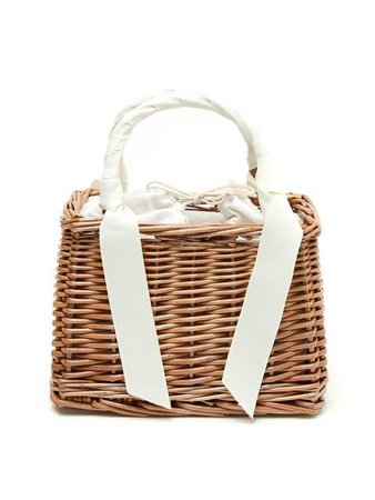 【BUBBLES】 Square basket bag