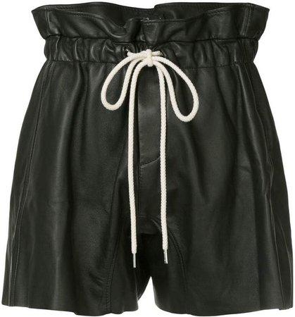 ruffle high waist shorts