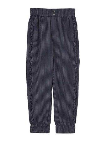 D'zzit Blue Stripe Pants