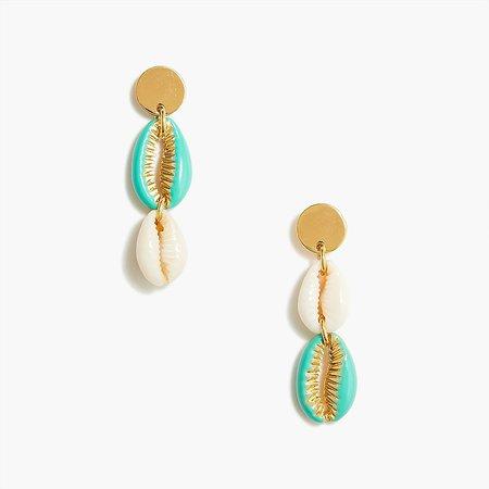 J.Crew Factory: Shell Drop Statement Earrings For Women