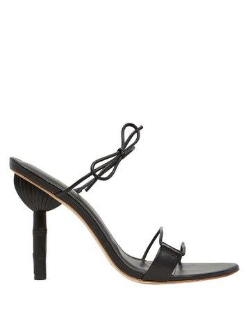 Cult Gaia | Malia Leather Sandals | INTERMIX®