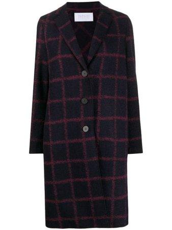 Harris Wharf London Checked Single Breasted Coat - Farfetch