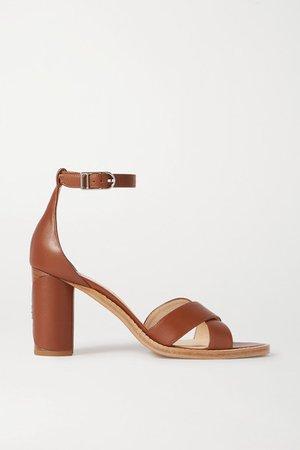 John Leather Sandals - Tan