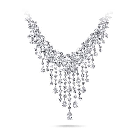 Carissa Necklace, Diamond | Graff
