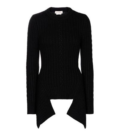 Wool-Blend Sweater - Alexander McQueen | Mytheresa