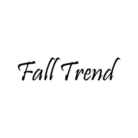 fall trends words - Google Search