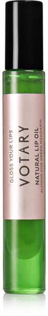 Votary - Natural Lip Oil - Almond And Green Mandarin, 8ml