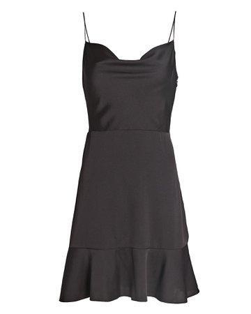 INTERMIX Private Label Parker Silk Mini Dress | INTERMIX®