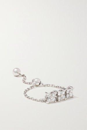 White gold Brontë 14-karat white gold diamond ring | Anissa Kermiche | NET-A-PORTER