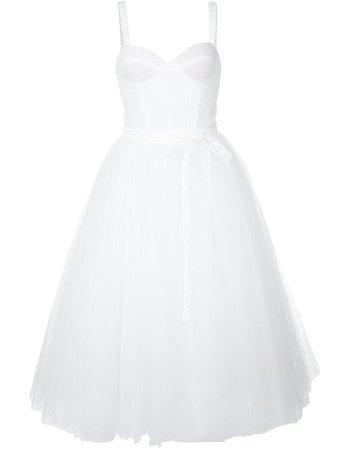 Carolina Herrera Bow-Embellished A-Line Dress   Farfetch.com