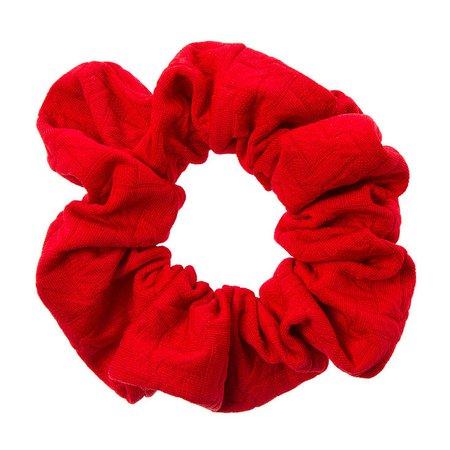red srunchie