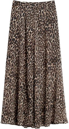 Petite Maxi Skirt with Side Slits