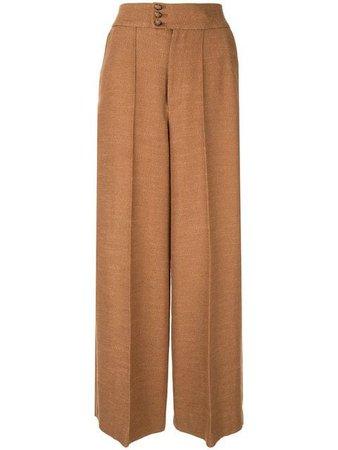 Muller Of Yoshiokubo High Waisted Tuck Pants - Farfetch
